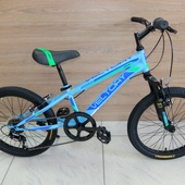 "Велосипед VELTORY 904 (2020) 20"" Синий"