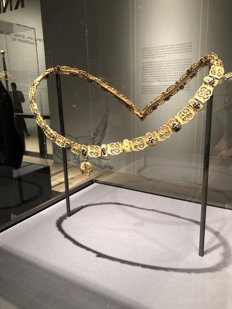 Украшение Ордена Золотого Руна (16 век)