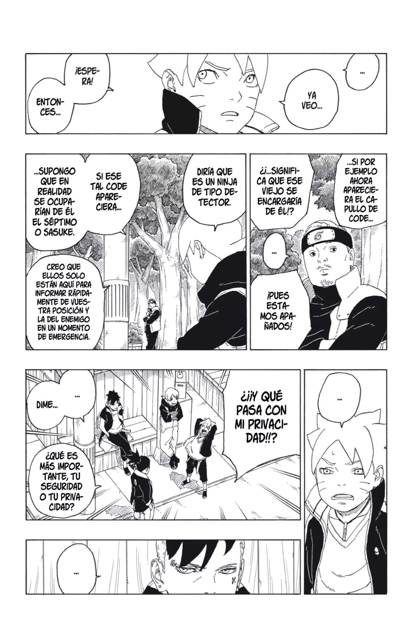 Boruto Manga Capitulo 61, image №6