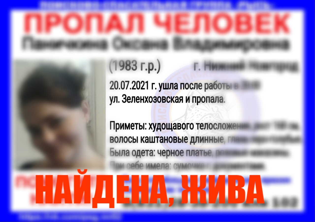 Паничкина Оксана Владимировна