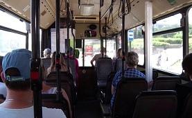 Автобус с неработающим терминалом оплаты не будет принимать новых пассажиров