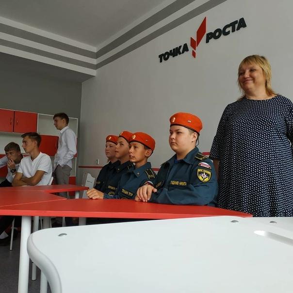 «Точки роста» открылись в школах Корсаковки и Возд...