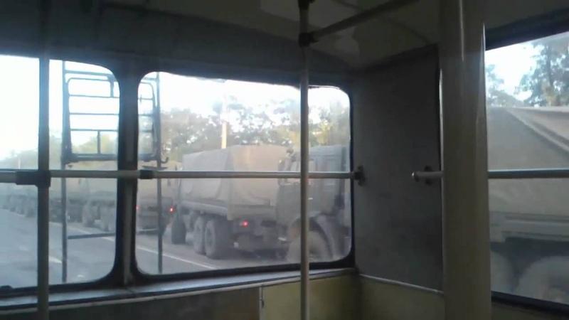 Колона російської військової техніки на Луганщині 02 09 2014