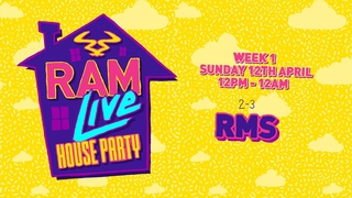 RAMLive House Party 12/04/20 - 2pm-3pm - RMS