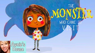 📚Kids Book Read Aloud: THE MONSTER WHO CAME TO VISIT by Neesa Bally and Nooshin Behyan