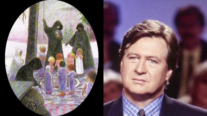 Jacques Pradel et la Femme Dissociée Amnésique ayant un Alter qui dessine des Rituels Sataniques 🧐