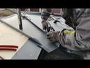Парапетные крышки из металла, как правильно нарезать, изготовить и установить парапетные отливы