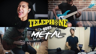 LADY GAGA ft. BEYONCÉ – Telephone (Cover by @RED HANDED DENIAL)