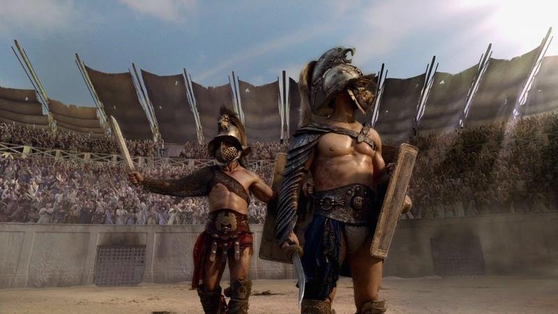 Восемь дней которые создали Рим Вторая серия Спартак и восстание гладиаторов HD